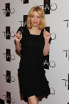 Courtney Love arrives at TAO
