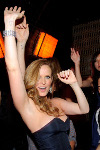 "May 22, 2010, LAS VEGAS, NV; Actress Rebecca Mader of ""Lost"" celebrates the series finale at Lavo Nightclub Las Vegas, with a custome cake (C) Al Powers / RETNA ltd"