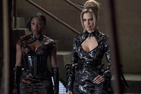 Rutina Wesley and Kristin Bauer van Straten True Blood season 5